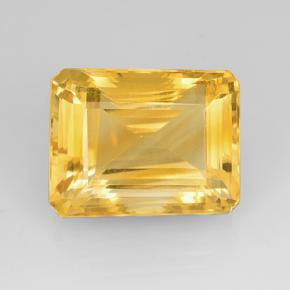 23.06 ct 八角阶梯切割 Bright Gold 黄水晶 宝石 18.62 mm x 14.4 mm (Product ID: 505638)