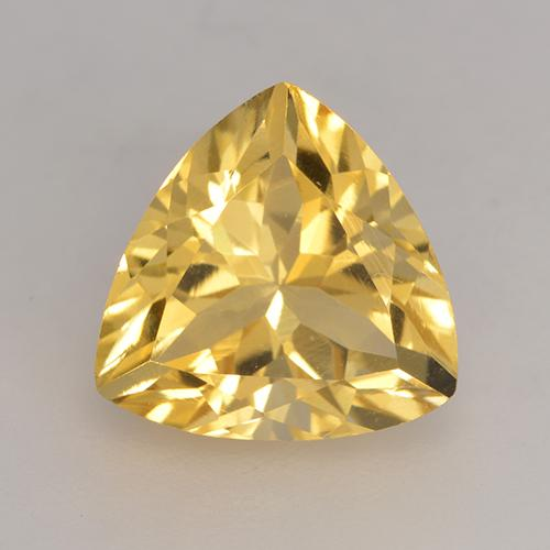 Medium Golden Citrina Gema - 2.4ct Forma trillón (ID: 531996)
