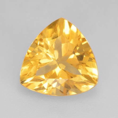 Top Gold Citrina Gema - 2.1ct Forma trillón (ID: 534132)