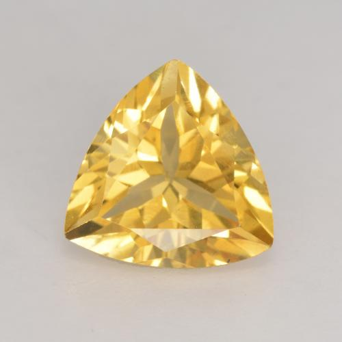 Medium Gold Citrina Gema - 2.1ct Forma trillón (ID: 534166)