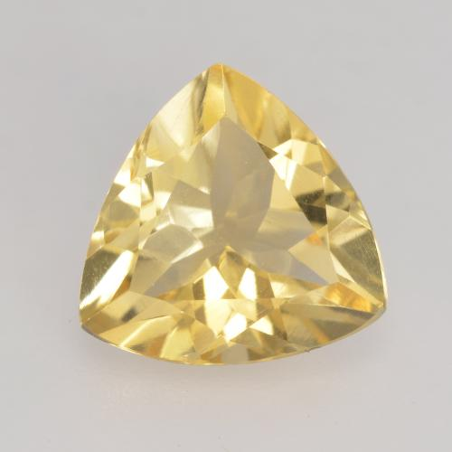 Medium Yellow Citrina Gema - 2ct Forma trillón (ID: 534173)