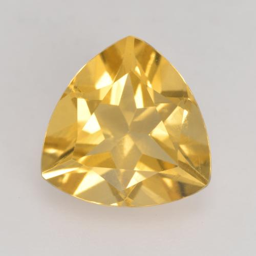 Medium Golden Citrina Gema - 2.2ct Forma trillón (ID: 534174)