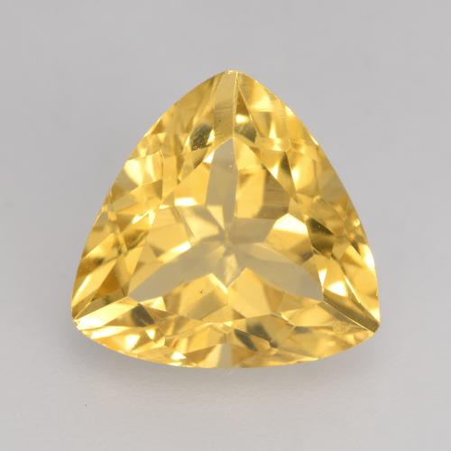 Medium Gold Citrina Gema - 2.3ct Forma trillón (ID: 534184)
