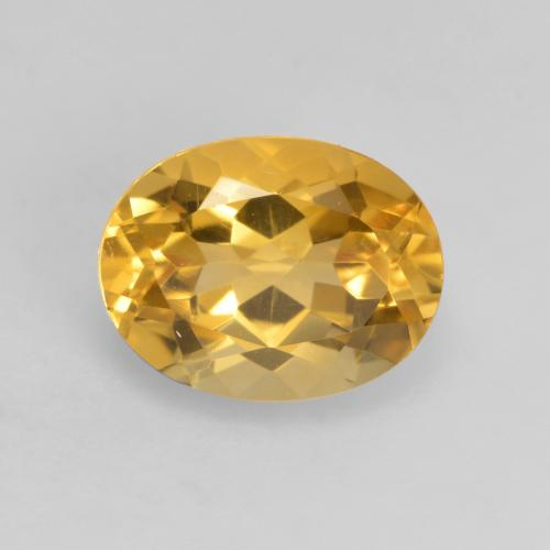 Medium-Dark Golden Citrina Gema - 1.9ct Forma ovalada (ID: 535699)