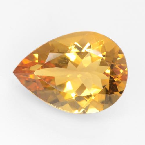 GOLDEN CITRINE 9 MM ROUND CUT ALL NATURAL