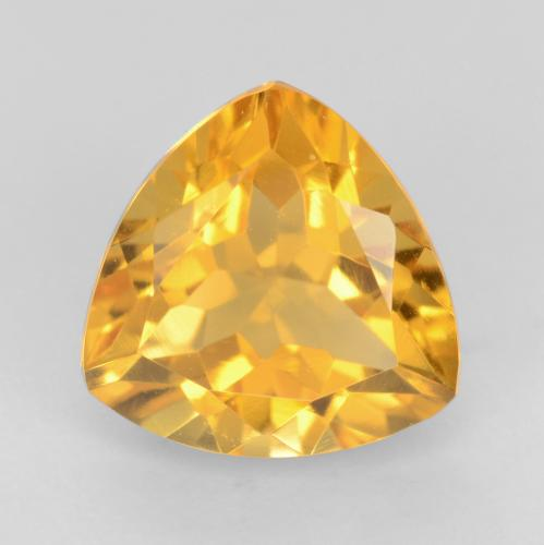 Orange-Gold Citrina Gema - 1.8ct Forma trillón (ID: 544840)