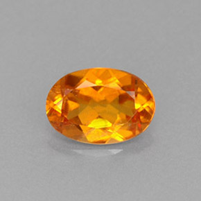 Buy 0.66 ct Yellow Orange Clinohumite 6.70 mm x 4.7 mm from GemSelect (Product ID: 229346)