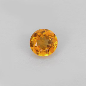 Buy 0.59 ct Yellow Orange Clinohumite 5.39 mm  from GemSelect (Product ID: 248994)