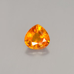 0.69 ct Natural Yellow Orange Clinohumite