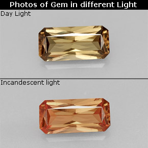 Buy 1.28 ct Greenish Brown To Red Pink Color-Change Garnet 9.06 mm x 4.3 mm from GemSelect (Product ID: 245807)
