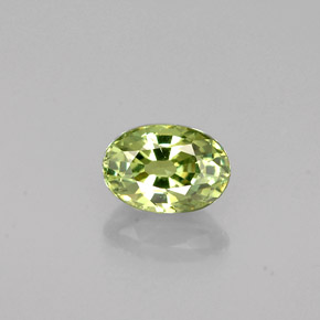Buy 0.64 ct Green Demantoid Garnet 5.75 mm x 4 mm from GemSelect (Product ID: 240557)