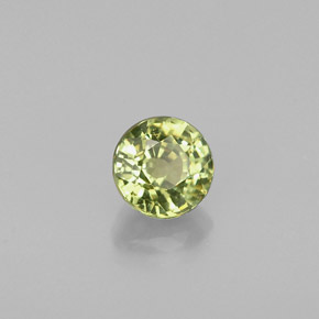 Buy 0.50 ct Golden Green Demantoid Garnet 4.49 mm  from GemSelect (Product ID: 240577)