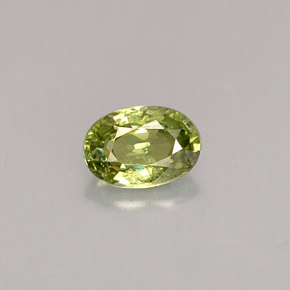 0.59 ct Natural Golden Green Demantoid Garnet