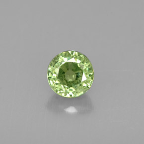 Buy 0.60 ct Green Demantoid Garnet 4.69 mm  from GemSelect (Product ID: 261318)