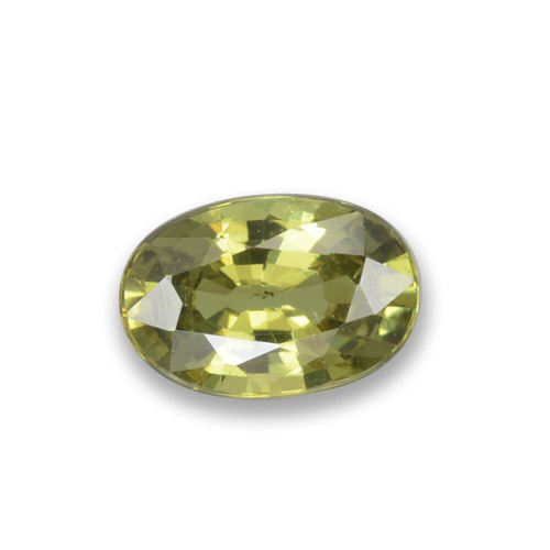 Buy 0.58 ct Golden Green Demantoid Garnet 6.03 mm x 4.1 mm from GemSelect (Product ID: 278679)