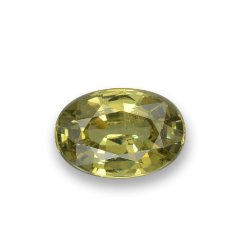 Buy 0.56 ct Golden Green Demantoid Garnet 5.98 mm x 4.1 mm from GemSelect (Product ID: 278817)