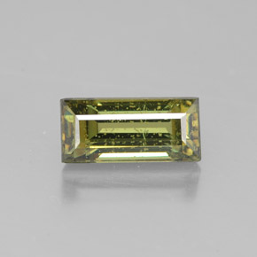 Buy 2.03 ct Greenish Golden Demantoid Garnet 9.43 mm x 4.4 mm from GemSelect (Product ID: 319421)