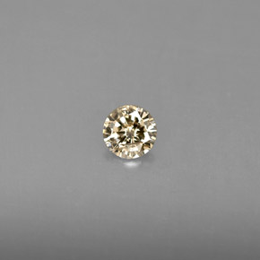 0.18 ct Natural Champagne Diamond