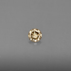 0.16 ct Natural Champagne Diamond