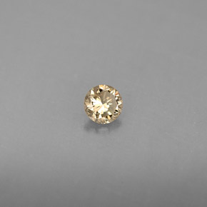 Buy 0.16ct Champagne Diamond 3.37mm  from GemSelect (Product ID: 289995)