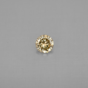 Buy 0.20 ct Champagne Diamond 3.80 mm  from GemSelect (Product ID: 295959)