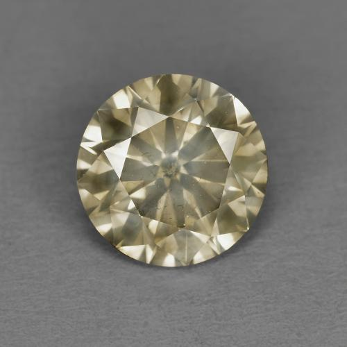 1.54 ct Diamond-Cut Cognac Diamond Gemstone 7.31 mm  (Product ID: 378644)