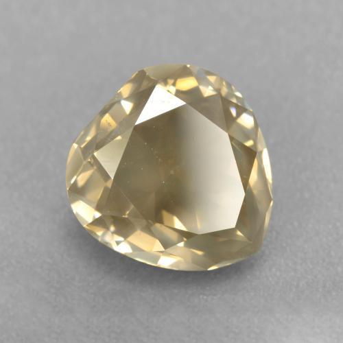 Champagne Diamond Gem - 2.5ct Pear Facet (ID: 382045)