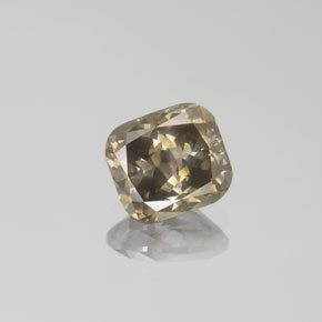 Buy 1.78 ct Champagne Diamond 7.24 mm x 6.6 mm from GemSelect (Product ID: 382048)