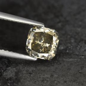 Buy 1.21 ct Champagne Diamond 6.01 mm x 6 mm from GemSelect (Product ID: 382051)