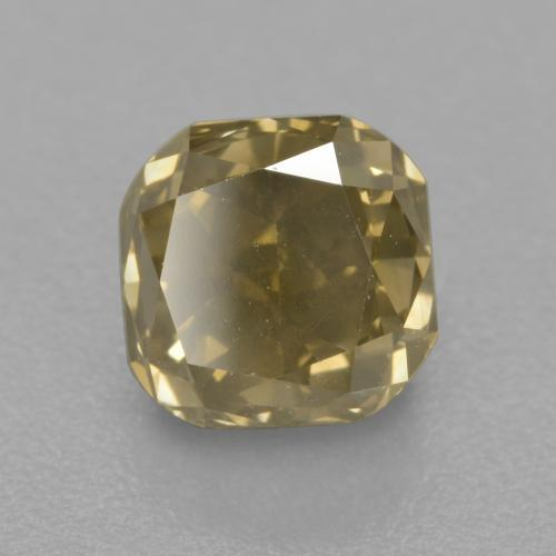 Buy 1.57 ct Champagne Diamond 5.85 mm x 5.8 mm from GemSelect (Product ID: 382052)