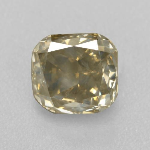Champagne Diamond Gem - 1.2ct Octagon / Scissor Cut (ID: 382054)