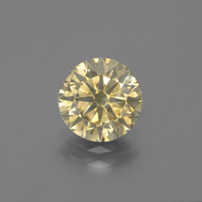 Champagne Diamond Gem - 1.7ct Diamond-Cut (ID: 382092)