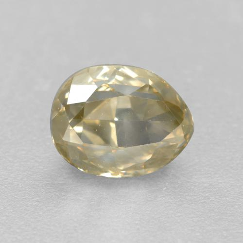 Buy 1.04 ct Champagne Diamond 6.42 mm x 5.1 mm from GemSelect (Product ID: 382118)