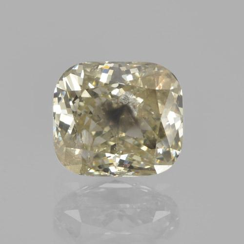 Champagne Diamond Gem - 1.2ct Cushion-Cut (ID: 460448)