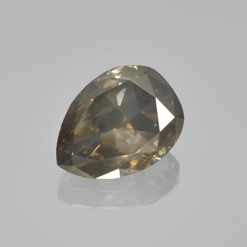 Cognac Diamond Gem - 1.8ct Pear Facet (ID: 460449)