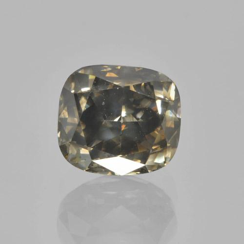 Cognac Diamond Gem - 1.6ct Cushion-Cut (ID: 460450)