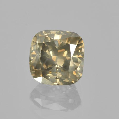 Dark Champagne Diamond Gem - 1.5ct Cushion-Cut (ID: 460452)