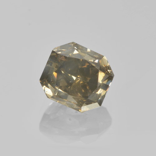 Cognac Diamond Gem - 1.4ct Octagon / Scissor Cut (ID: 460454)