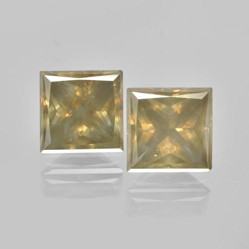 Cognac Diamond Gem - 1.7ct Princess-Cut (ID: 460460)