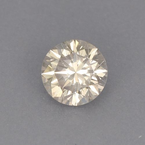 thumb image of 0.2ct Diamond-Cut Light Champagne Diamond (ID: 467179)