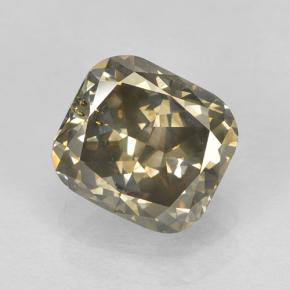 Cognac Diamond Gem - 1.8ct Cushion-Cut (ID: 503641)