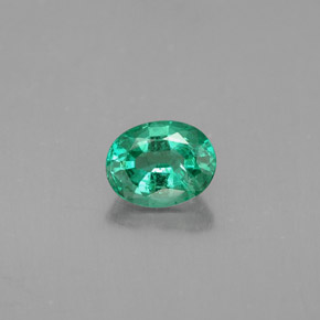 Buy 0.51 ct Green Emerald 5.70 mm x 4.5 mm from GemSelect (Product ID: 284463)