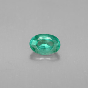 Buy 0.59 ct Green Emerald 6.46 mm x 4.4 mm from GemSelect (Product ID: 284464)