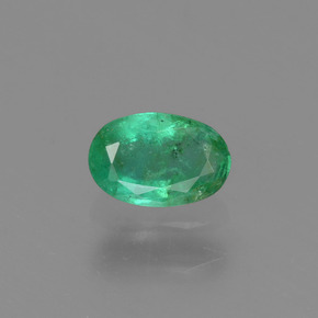 Buy 0.45 ct Green Emerald 6.09 mm x 4.1 mm from GemSelect (Product ID: 290234)