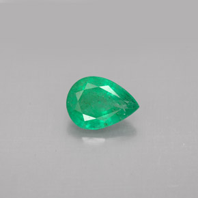 Buy 0.99 ct Green Emerald 8.09 mm x 6 mm from GemSelect (Product ID: 296258)