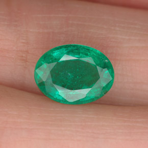 Buy 1.73 ct Green Emerald 9.32 mm x 7 mm from GemSelect (Product ID: 299213)