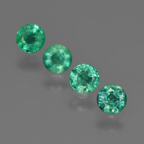 Buy 1.01 ct Green Emerald 4.12 mm  from GemSelect (Product ID: 412406)