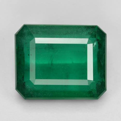 Medium Emerald Green Esmeralda Gema - 11.5ct Corte octagonal (ID: 459355)