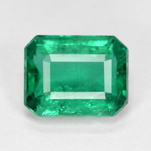 thumb image of 2.3ct Octagon Step Cut Green Emerald (ID: 459479)