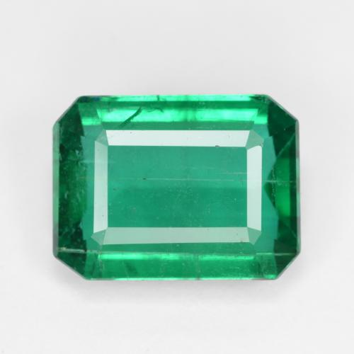 Medium Green Esmeralda Gema - 5.5ct Corte octagonal (ID: 498381)